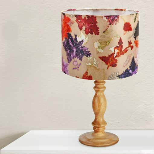 Autumn Flurry | Orange & Brown Light Shade For The Home