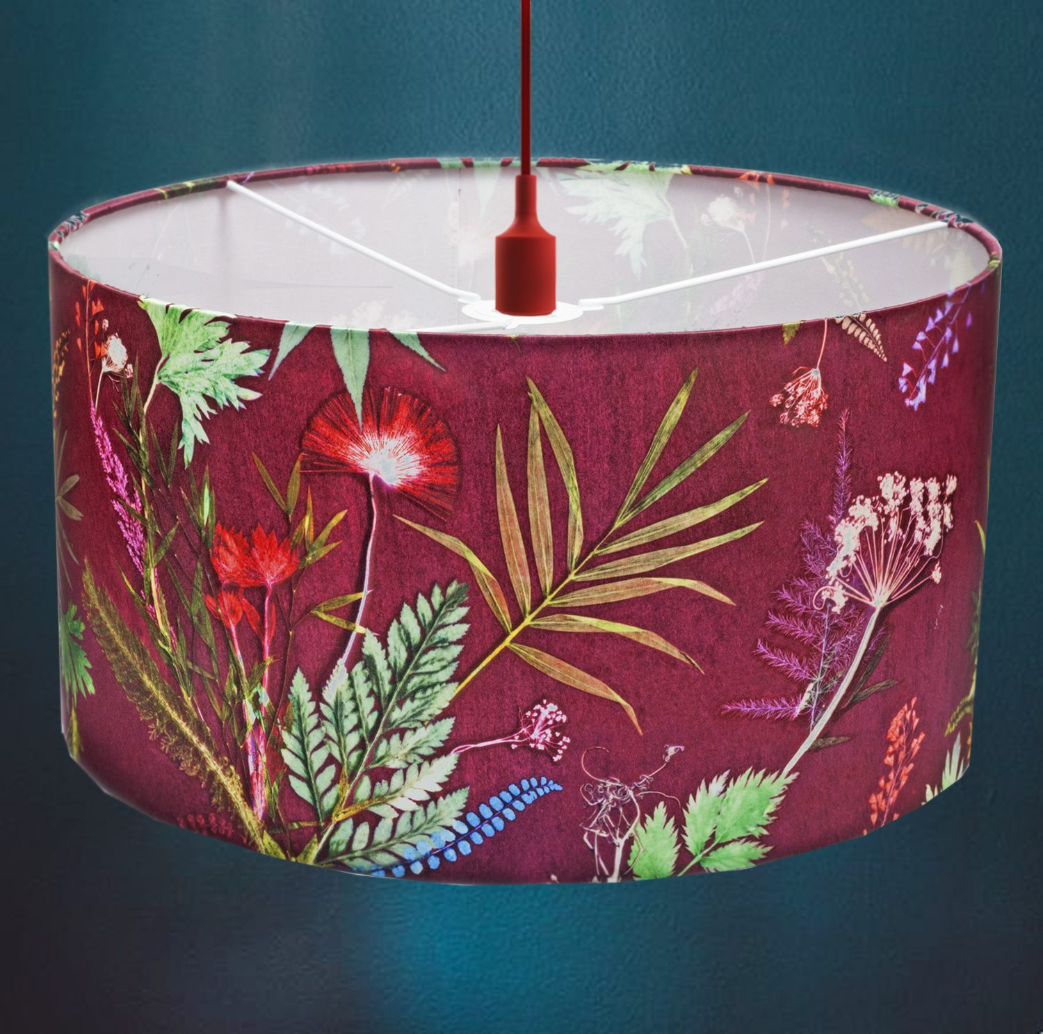 Tropical Wine   Red Wine & Green Lamp Shade For The Bedroom