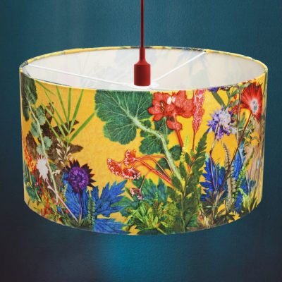 Summer Tropics | Yellow & Green Light Shade For The Living Room