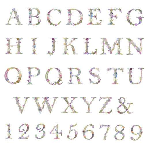 Gillian Arnold Floral Alphabet