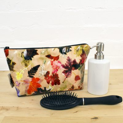 Autumn Flurry - Botanical Inspired Travel and Beauty Wash Bag