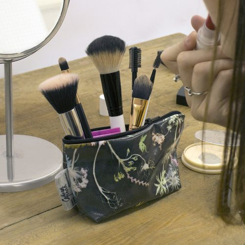 Edwardian Blooms - Floral Inspired Travel & Beauty Makeup Bag.