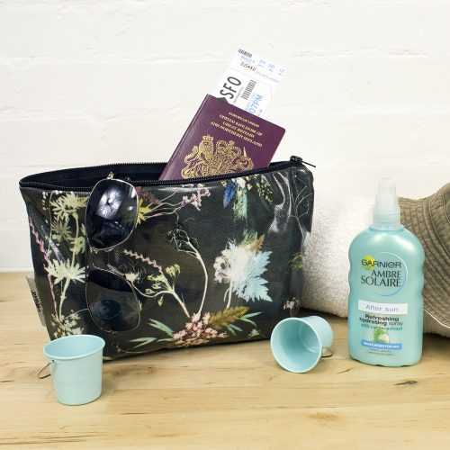 Edwardian Blooms - Floral Inspired Travel and Beauty Wash Bag