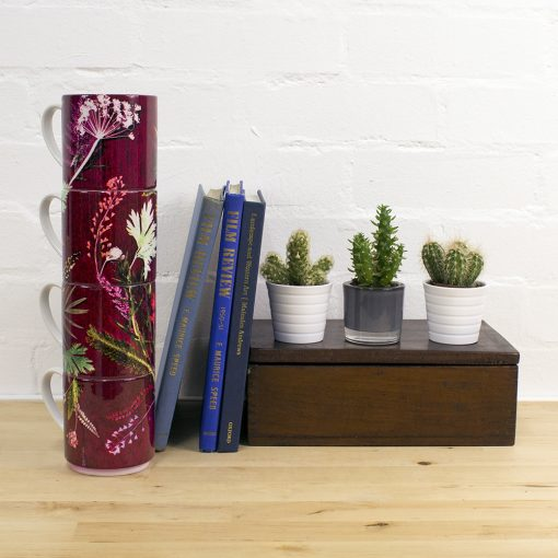 Exotic Tropical Wine Designed Stacking