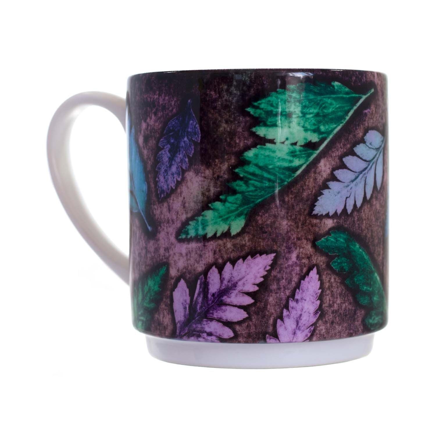 Fern Cluster Cool Ceramic Mug Home And Kitchen Accessory