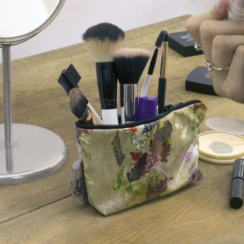 Floral Dance - Botanical Inspired Travel & Beauty Makeup Bag.
