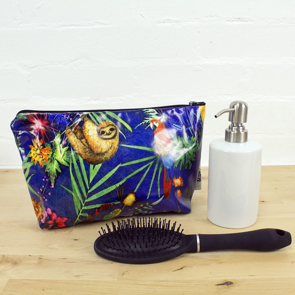 Jungle Animal Surprise - Exotic Inspired Travel and Beauty Wash Bag