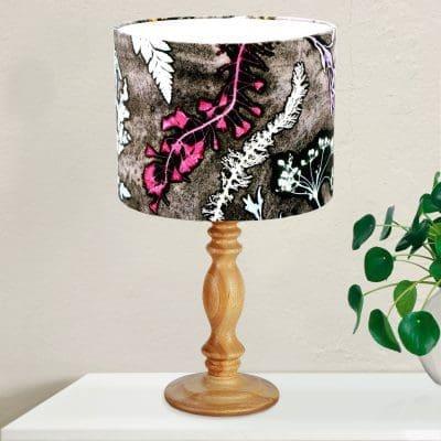 Magenta Heart Grass   Pink & Grey Light shade For The Bedroom