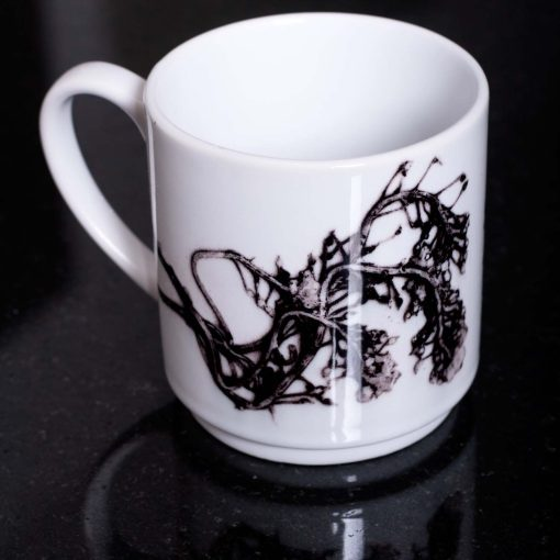 Monochrome Celtic Orient Ceramic Mug - Home and Kitchen Accessory