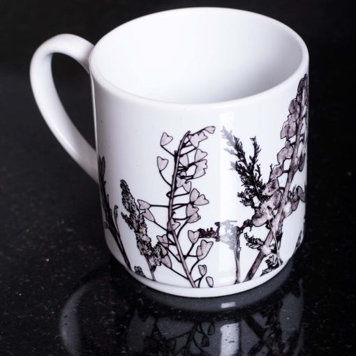 Monochrome Landscape Ceramic Mug - Home and Kitchen Accessory