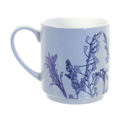 Purple Landscape Ceramic Mug - Home and Kitchen Accessory