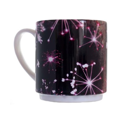 Space Cow Parsley Ceramic Mug - Home and Kitchen Accessory