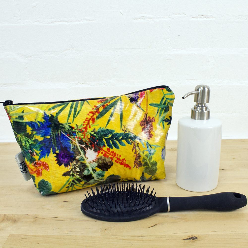 Summer Tropics - Exotic Inspired Travel and Beauty Wash Bag