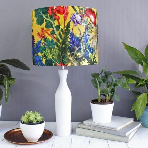 Summer Tropics | Yellow & Green Light Shade For The Living Room