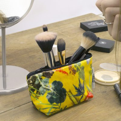 Summer Tropics - Tropical Inspired Travel & Beauty Makeup Bag.