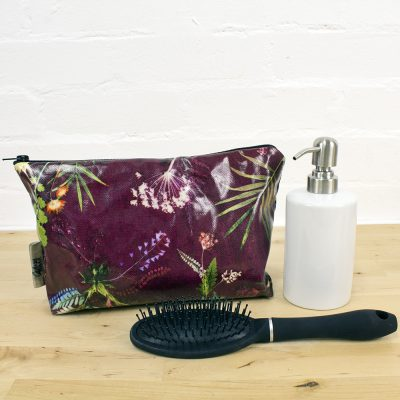 Tropical Wine - Exotic Inspired Travel and Beauty Wash Bag
