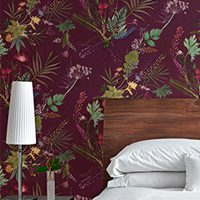 Statement & Feature Botanical Wallpaper