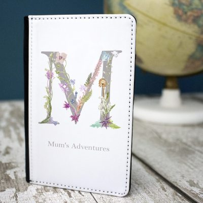 Personalised Botanical Passport and Luggage Tag