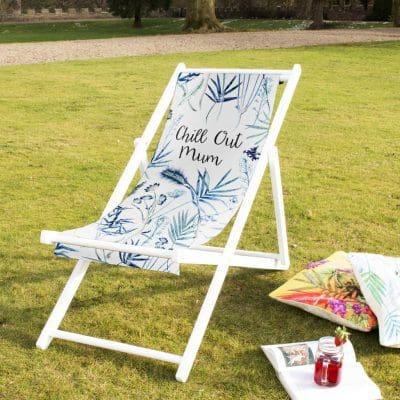 Tropical Mum Deckchair, Summer Shop Garden Furniture
