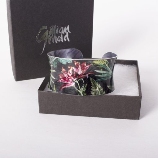 May Birth Flower Bracelet Gift For Her, Lily, Beautiful Floral Bangles and Jewellery.