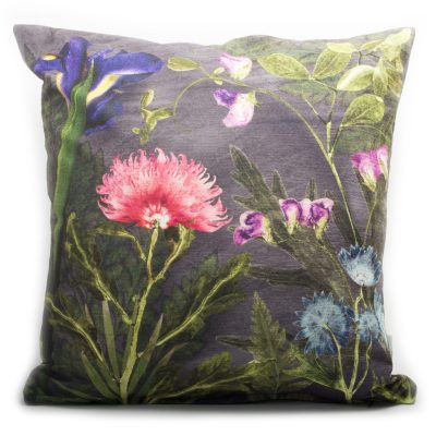 Compassionate Night | Pink & Grey Sofa Cushion Bold Design
