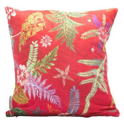 Now Thats Something | Hot Pink & Green Sofa Cushion Bold Design
