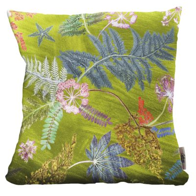 Now Thats Something | Lime Green & Pink Sofa Cushion Bold Design