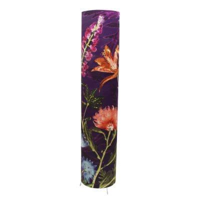 Purple Whisper   Tall Standing Floor Lamp, Violet Mood Lighting
