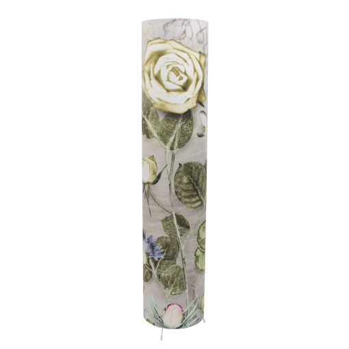 Mothers Silver Bouquet   Tall Standing Floor Lamp, Silver Mood Lighting