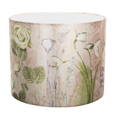Mothers Pink Bouquet | Rose Pink & Green Light Shade For The Home