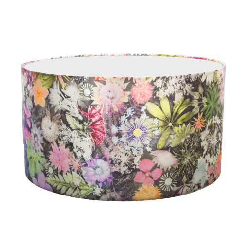 Cascades of Colour   Green & Pink Lamp Shade For The Living Room