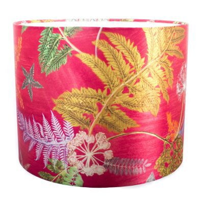 Now Thats Something | Hot Pink & Green Light Shade For The Home