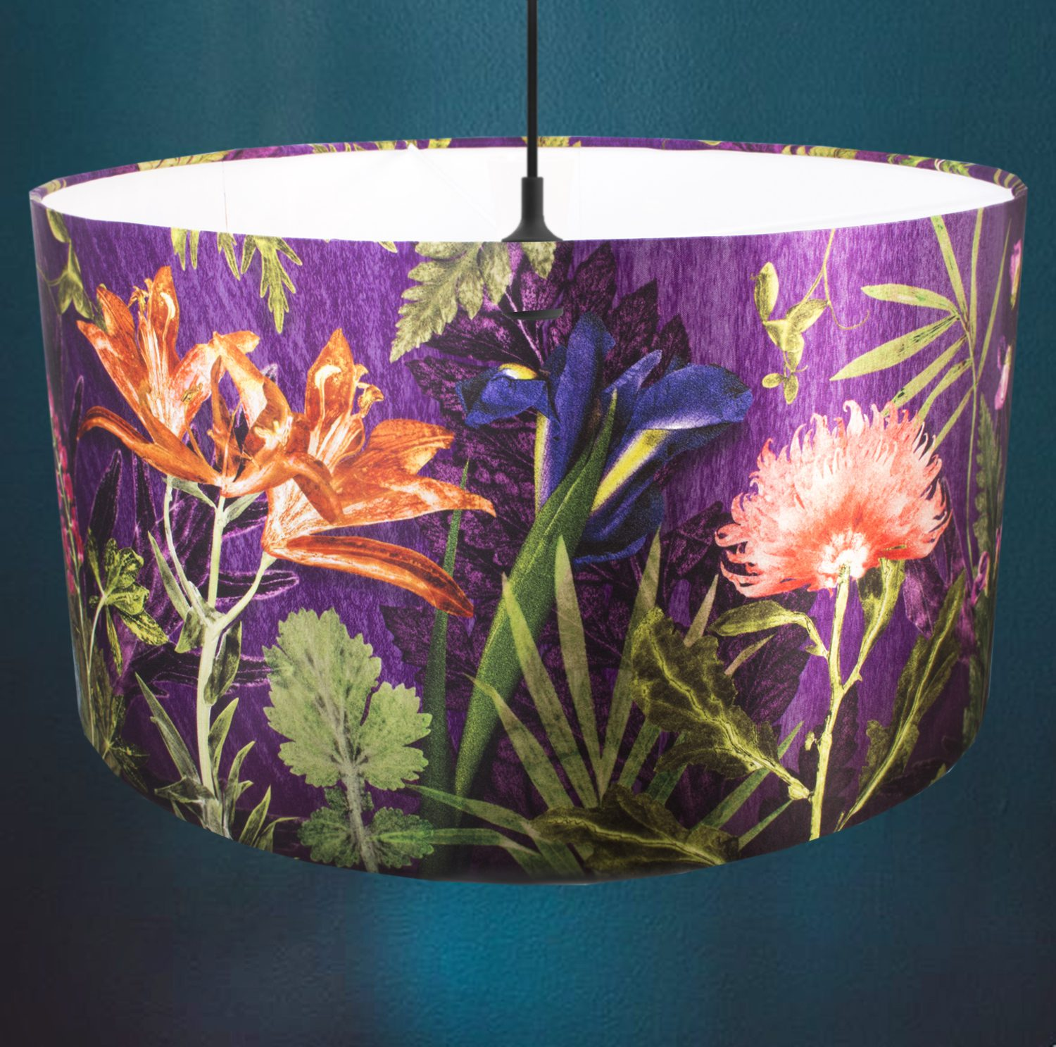 Purple Whisper | Purple & Orange Light Shade For The Dining Room