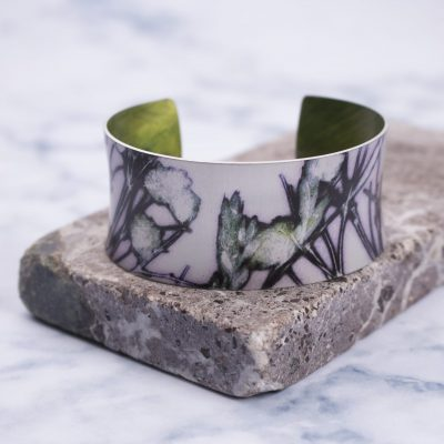 Aqua Branch Aluminium Exotic Cuff Jewellery Bracelet