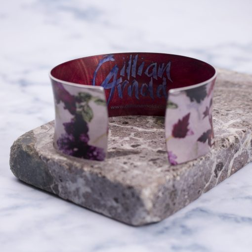 Botanical Inspired Autumn Flurry Cuff Bracelet and Jewellery Gift