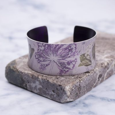 Bridal Bouquet Botanical Cuff Bracelet and Jewellery Gift