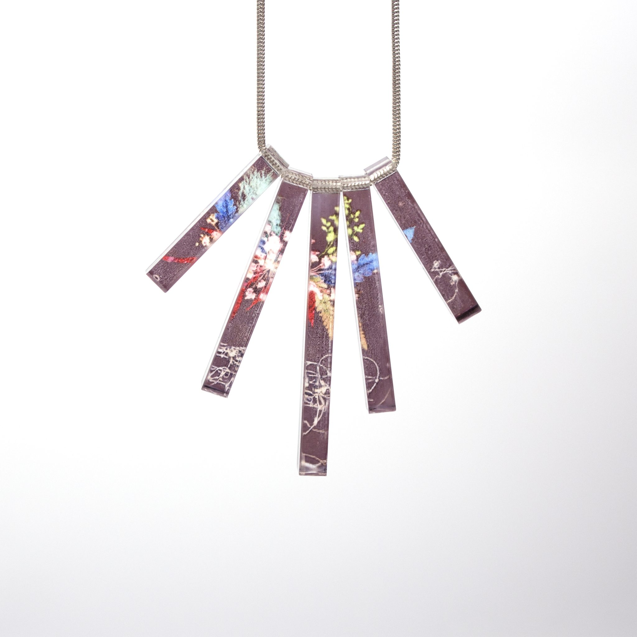 Edwardian Bloom Acrylic Statement Necklace, Beautiful Jewellery ...