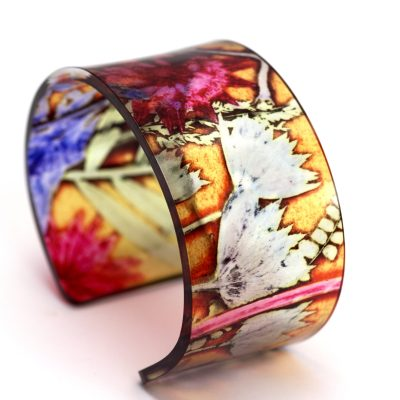 Tropical Sunshine Acrylic Cuff, Jewellery Gift