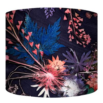 botanical design ceiling light shades and lamp shades by gillian arnold