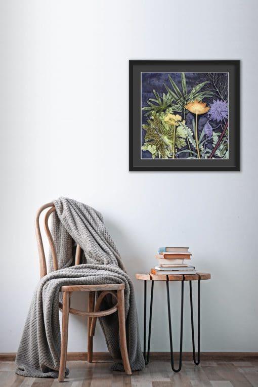 Midnight Jungle Wall Art AA04