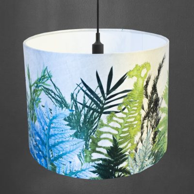 Forage | Green & White Lamp Shade For The Home