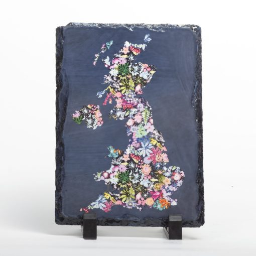 Floral Country Slate