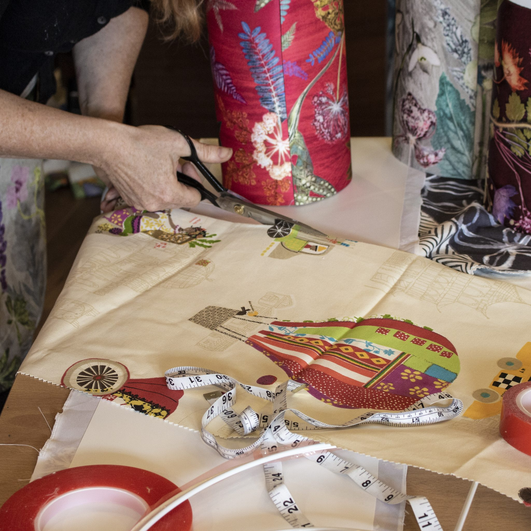 Gillian Arnold Lampshade Workshop | Darlington Craft Workshops